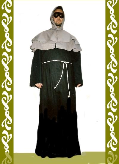 kostým mnich, půjčovna kostýmů Ladana