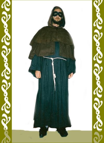 kostým mnich, půjčovna karneval kostýmů Ladana