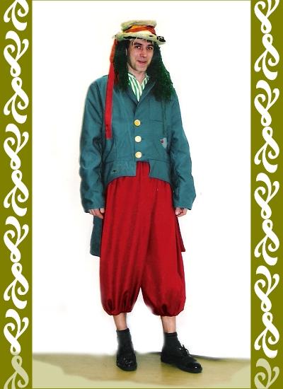 kostým vodník, půjčovna maškarní kostýmy Ladana