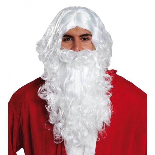 paruka a vousy Santa Claus, Ladana
